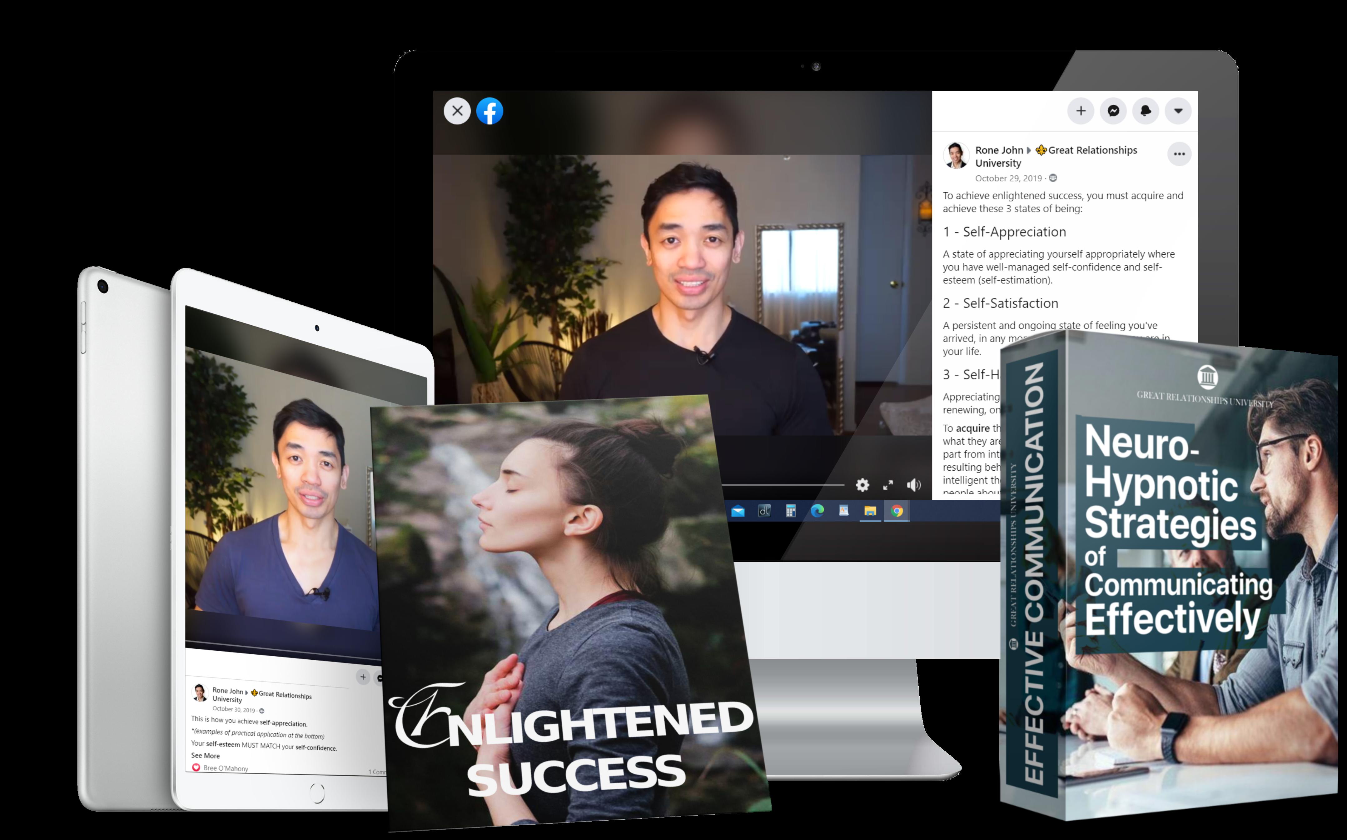 iMac Desktop Mock GRU Enlightened Success