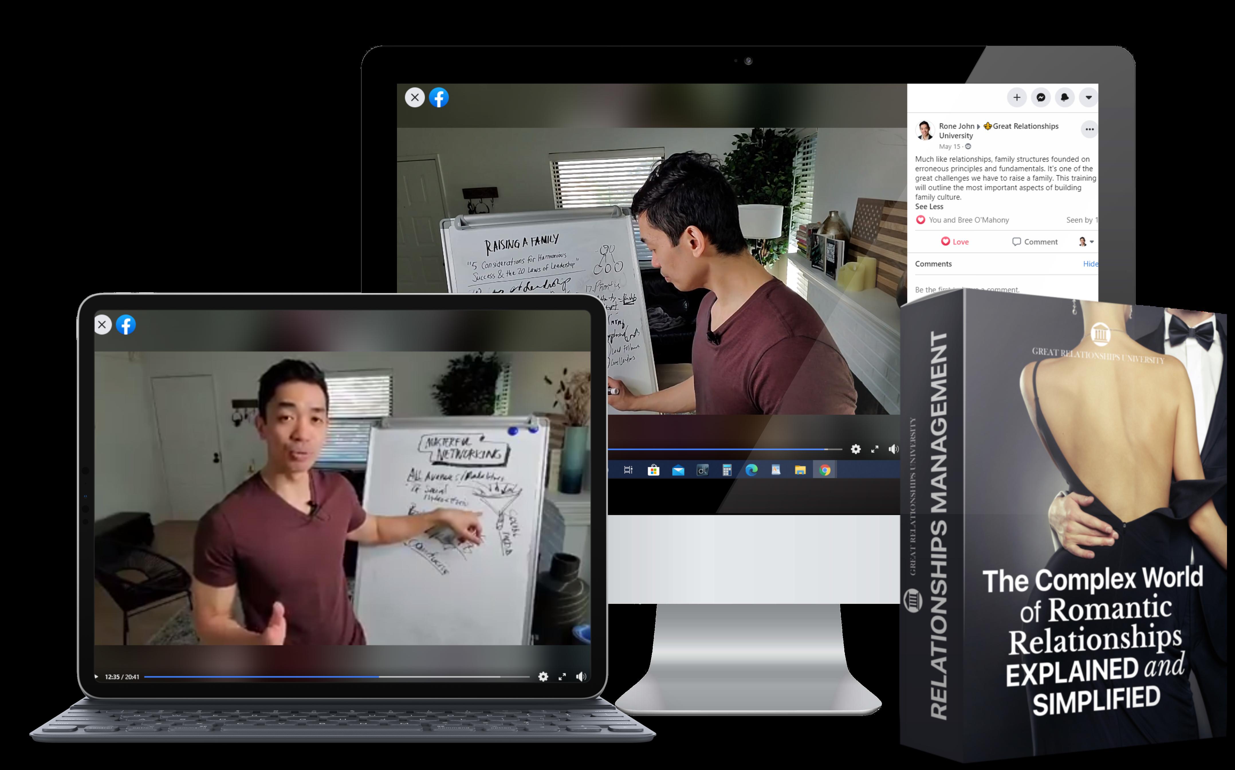 iMac Desktop Mock GRU Relationships