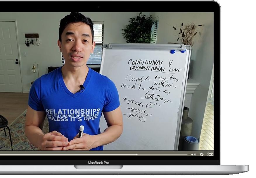 MacBook Pro Cut Rone Teaching Unconditional Love