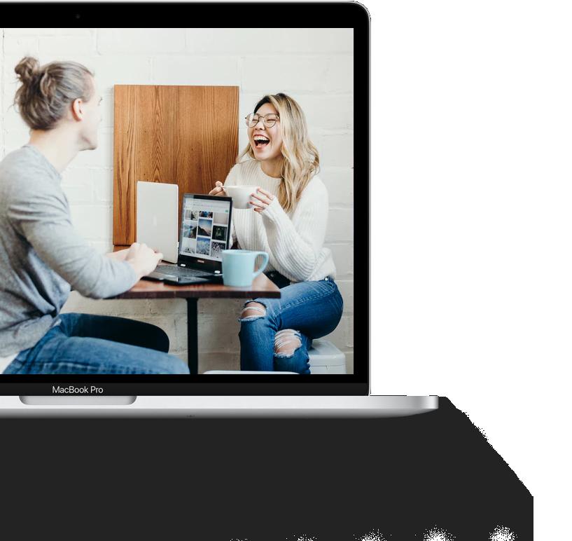 MacBook Pro W Shadow Half Conversation