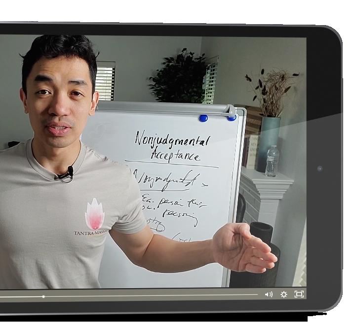 iPad Horizontal Cut Nonjudgmental